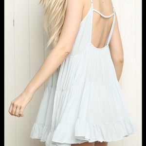 Light blue brandy melville dress